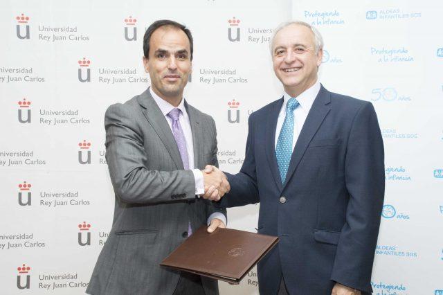 Acuerdo entre Aldeas Infantiles SOS y la Universidad Juan Carlos