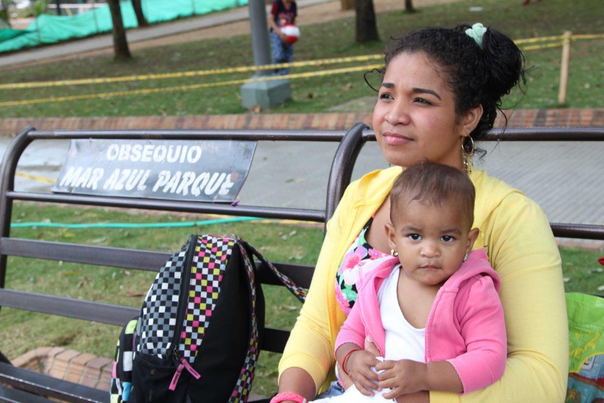 Refugiados venezolanos en Colombia
