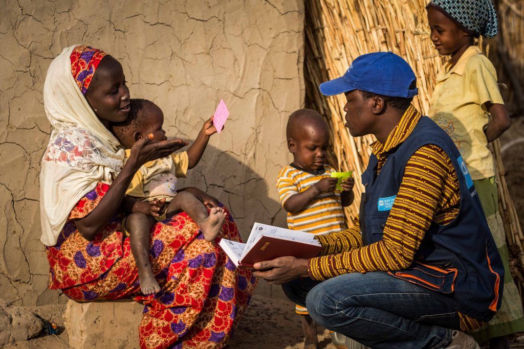 Aldeas brinda asistencia humanitaria en Chad_baja