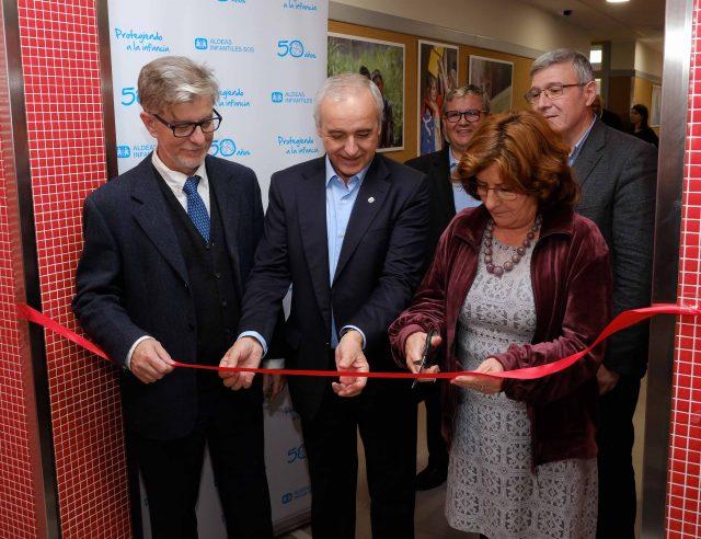 Inauguración del nuevo Centro de Día de Zaragoza