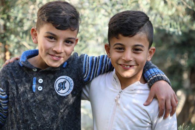 Separados por la guerra: dos hermanos sirios se reunieron después de años de diferencia