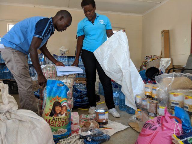 Equipo de Aldeas en Mozambique