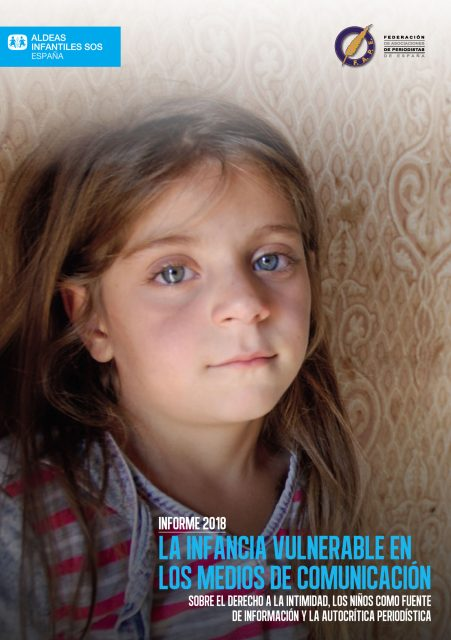Portada La infancia vulnerable en los medios 2018