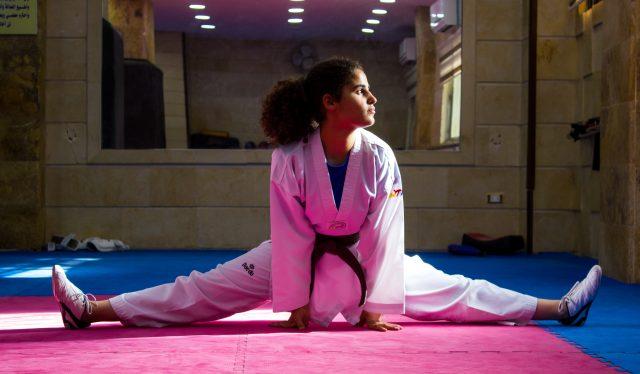 Campeona de taekwondo