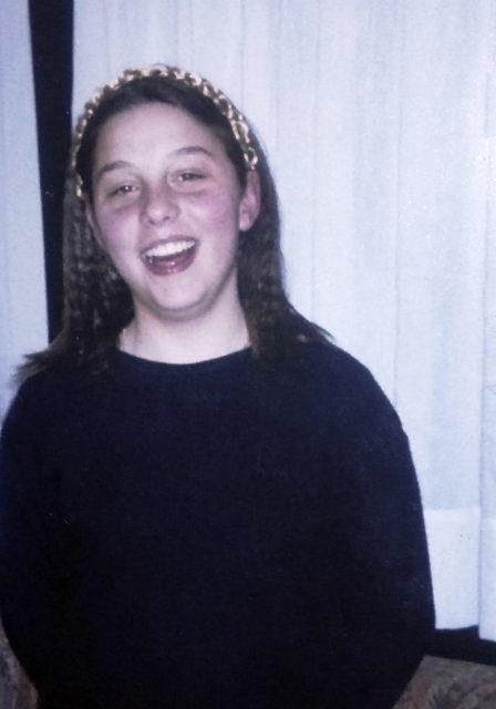 """""""Puedo decir que era una niña feliz, con una vida normal"""""""