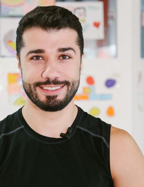 Ahmad Joudeh bailarín